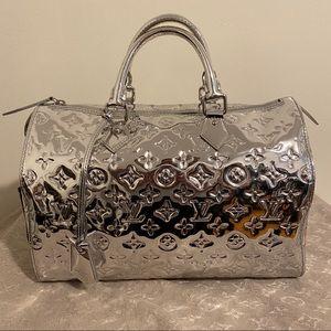 SOLD Louis Vuitton  Silver Mirror speedy